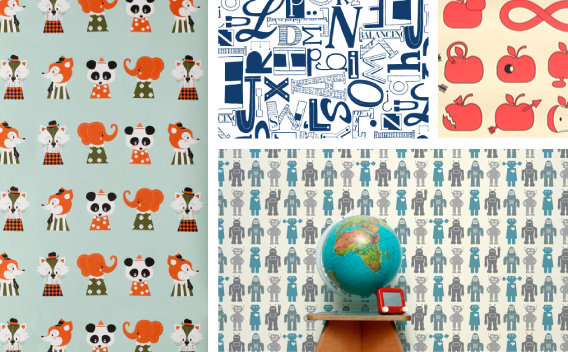 Hang Time: The Best in Kids' Wallpaper Design